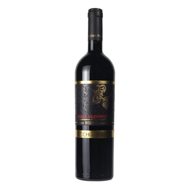 意大利普里亞老塔酒莊薩倫蒂諾薩利切珍藏紅葡萄酒紅酒
