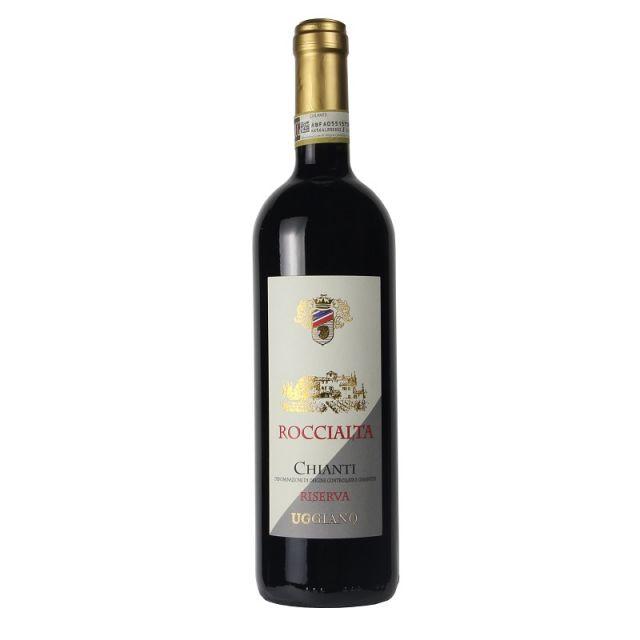 意大利托斯卡纳乌佳诺酒庄罗恰尔塔珍藏奇安蒂红葡萄酒红酒