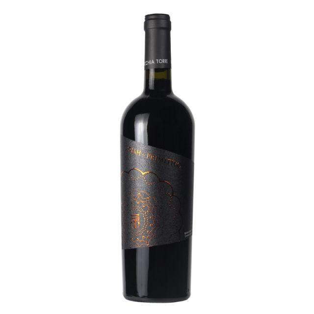 意大利普里亞老塔酒莊西拉普利米堤沃葡萄酒紅酒