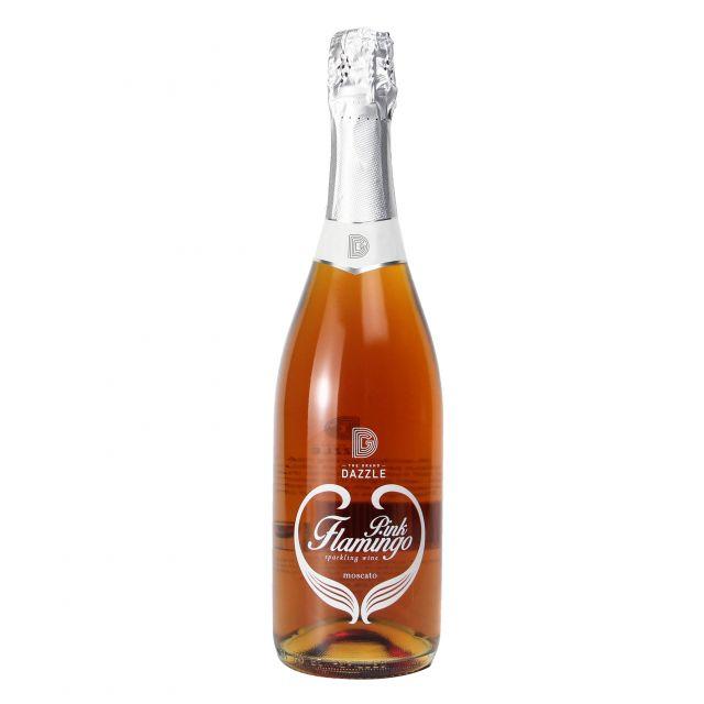 格兰达斯 粉红火烈鸟桃红起泡葡萄酒