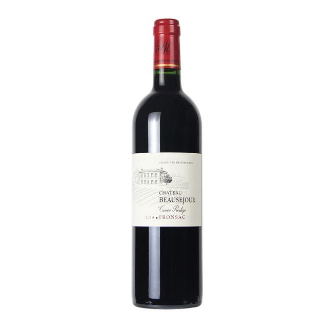 法國弗龍薩克博賽城堡紅葡萄酒