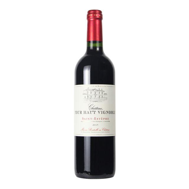 法國圣愛斯泰夫圖爾城堡紅葡萄酒2015