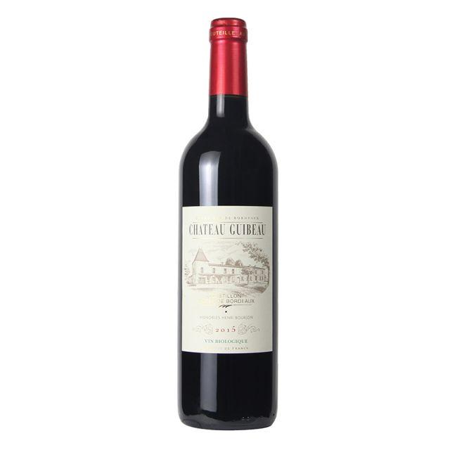 法國波爾多丘 吉貝酒莊紅葡萄酒