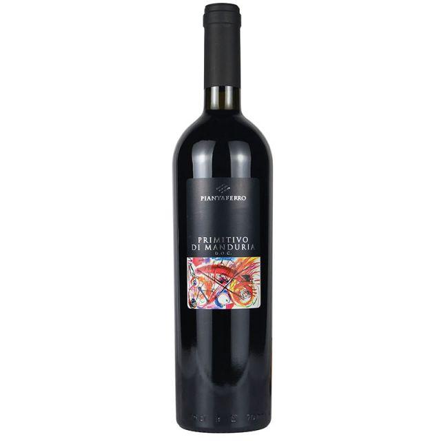 意大利曼杜里亚普里米蒂沃 D.O.C.干红葡萄酒红酒