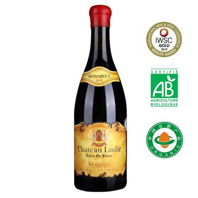 法国罗纳河谷路迪城堡有机葡萄酒