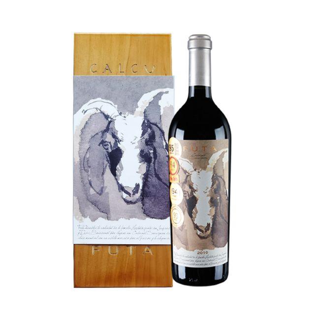 智利空加瓜谷家福富塔赤霞珠红葡萄酒红酒