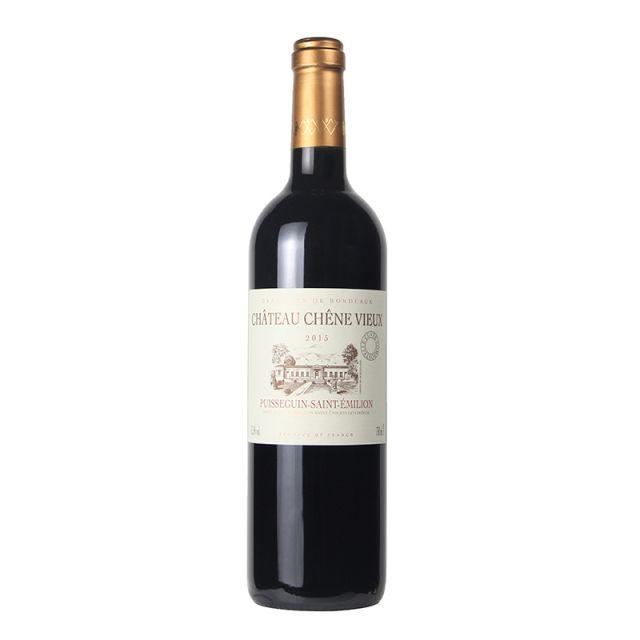 法国波尔多老橡树城堡红葡萄酒