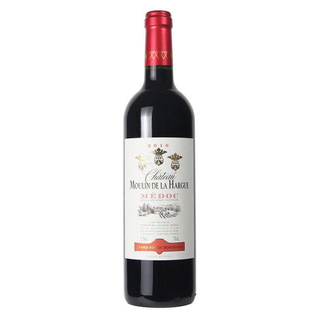 法国梅多克哈格磨坊红葡萄酒