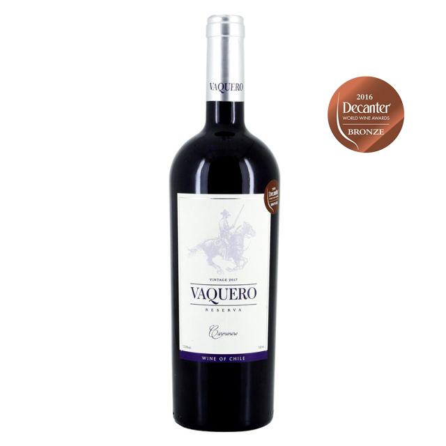 智利莫萊谷騎士維卡羅珍藏佳美娜干紅葡萄酒紅酒