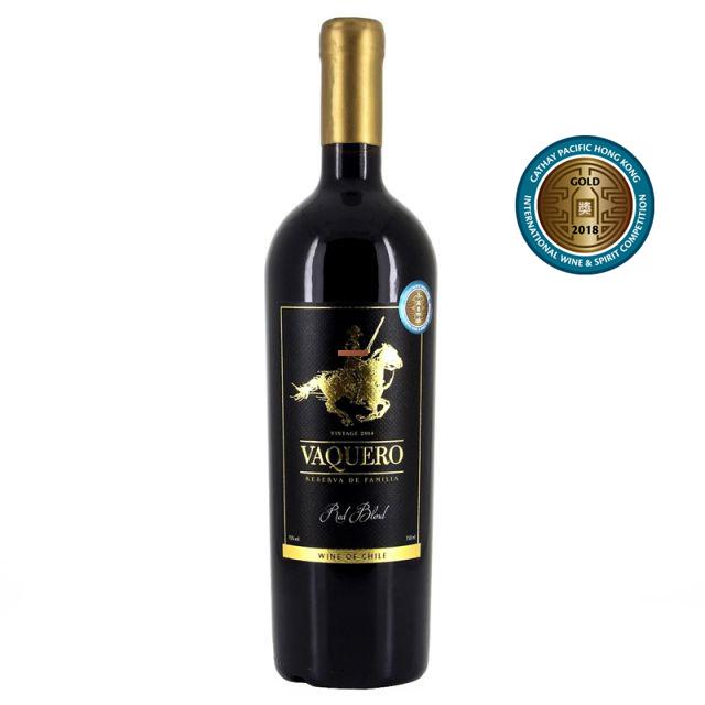 智利邁坡谷騎士維卡羅家族珍藏干紅葡萄酒紅酒