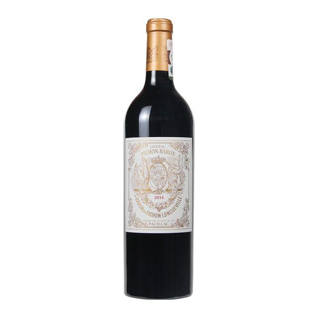 法国波尔多波亚克男爵酒庄干红葡萄酒红酒2014