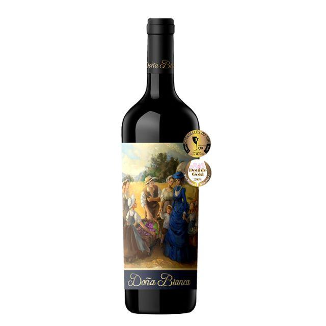 智利中央山谷安卡夫人油画版赤霞珠红葡萄酒红酒