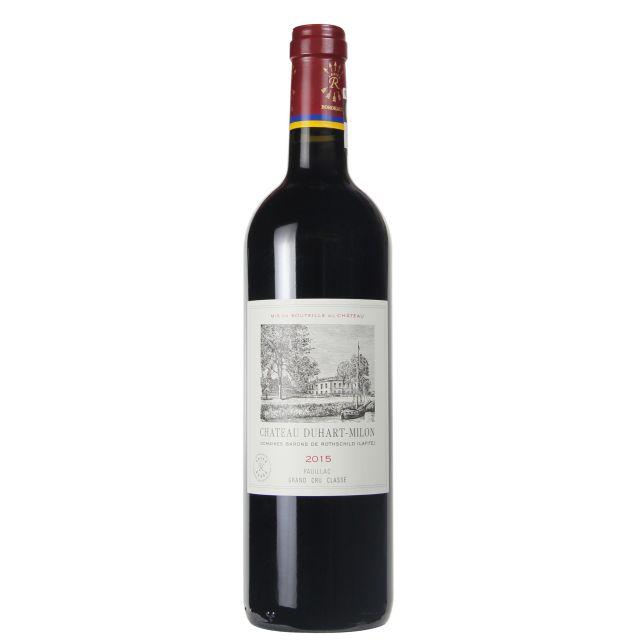 法國波爾多波亞克杜夏美隆酒莊干紅葡萄酒紅酒2015