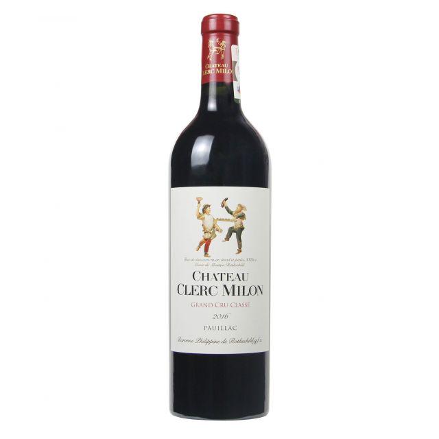 法国波尔多波亚克双公酒庄红葡萄酒红酒2016