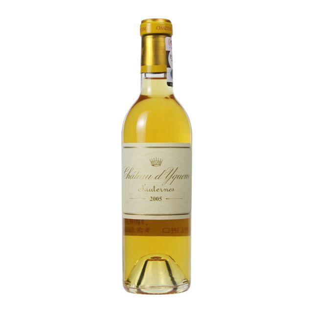 法国波尔多滴金庄园贵腐甜白葡萄酒2005