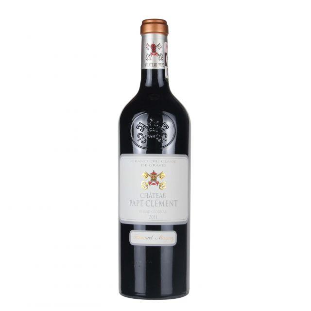 法国波尔多格拉芙黑教皇庄园红葡萄酒红酒2011