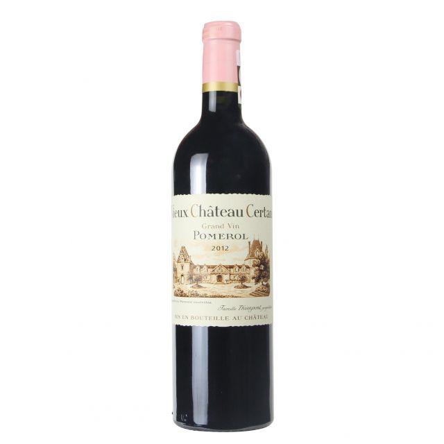 法国波尔多波美侯老色丹庄园红葡萄酒红酒2012