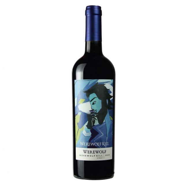 智利狼人系列狼人西拉紅葡萄酒