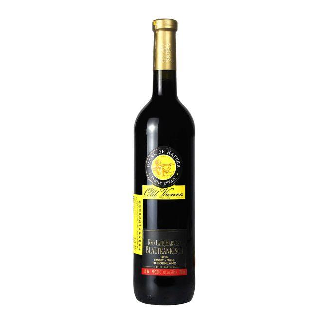 欧维娜精选晚摘紅葡萄酒 2015