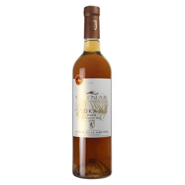 乌克兰歌德娜托凯麝香白葡萄酒