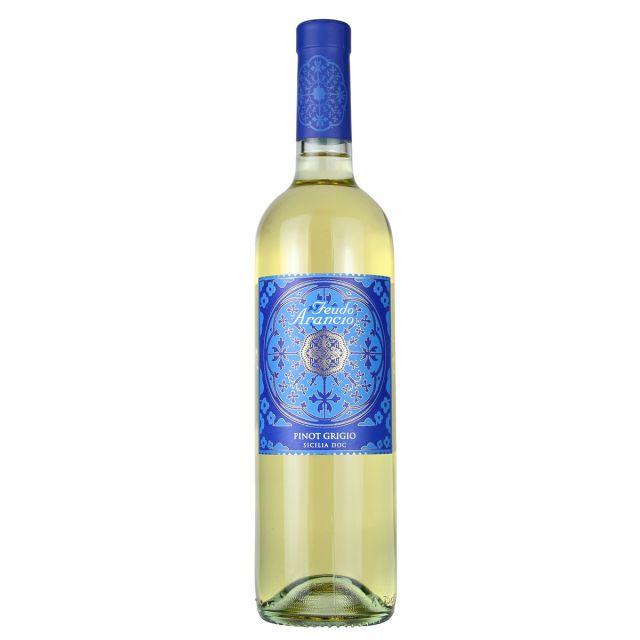橙色庄园灰皮诺干白葡萄酒