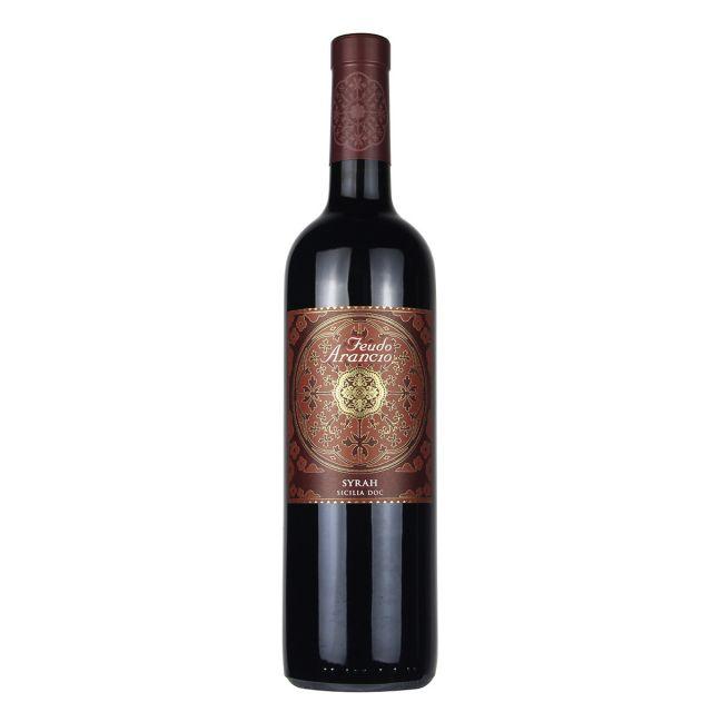 橙色庄园希拉干红葡萄酒