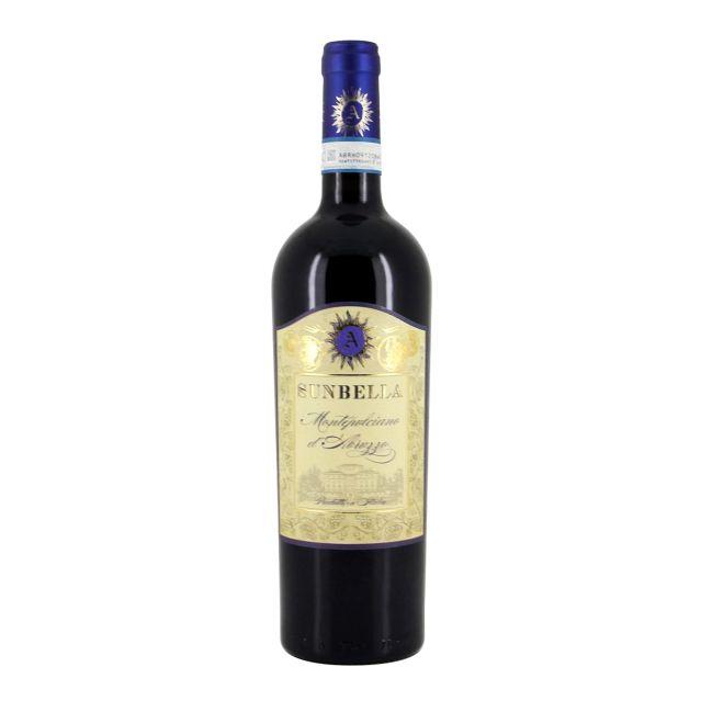 意大利阿布鲁佐阳光贝拉2号蒙特布查诺红葡萄酒红酒