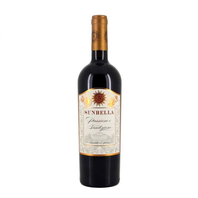 意大利阳光贝拉3号桑娇维塞红葡萄酒红酒