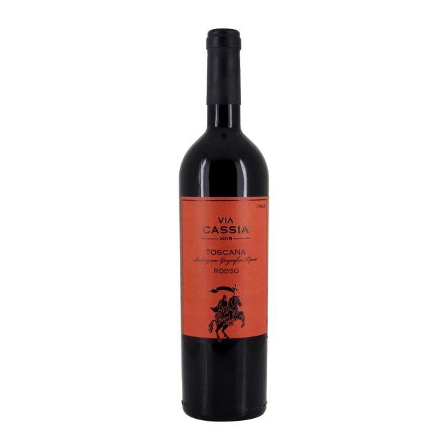 意大利托斯卡纳卡西亚·云歌5号红葡萄酒红酒