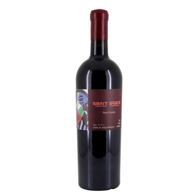 南非西开普省圣格雷丝小维多限量珍藏红葡萄酒红酒
