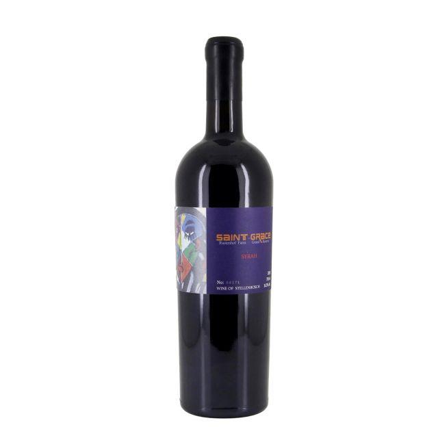 南非西开普省圣格雷丝西拉限量珍藏红葡萄酒红酒