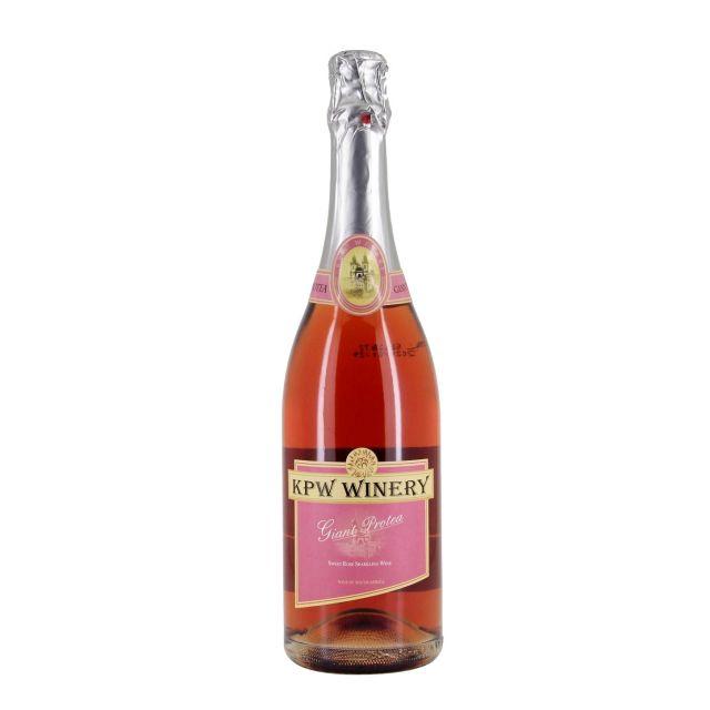 南非西开普省凯蒂桃红起泡酒