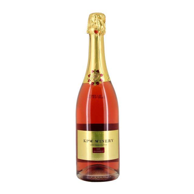 南非西开普省卡帕湾玫瑰红无醇气泡葡萄汁
