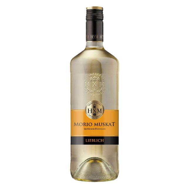 德国莱茵黑森灰熊猫莫斯卡托半甜白葡萄酒