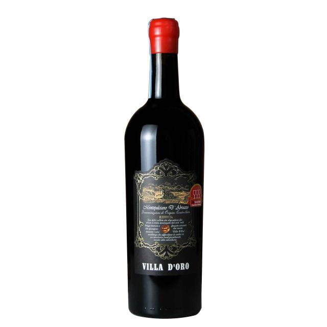 意大利阿布魯佐珍藏蒙特普齊亞諾紅葡萄酒紅酒2016