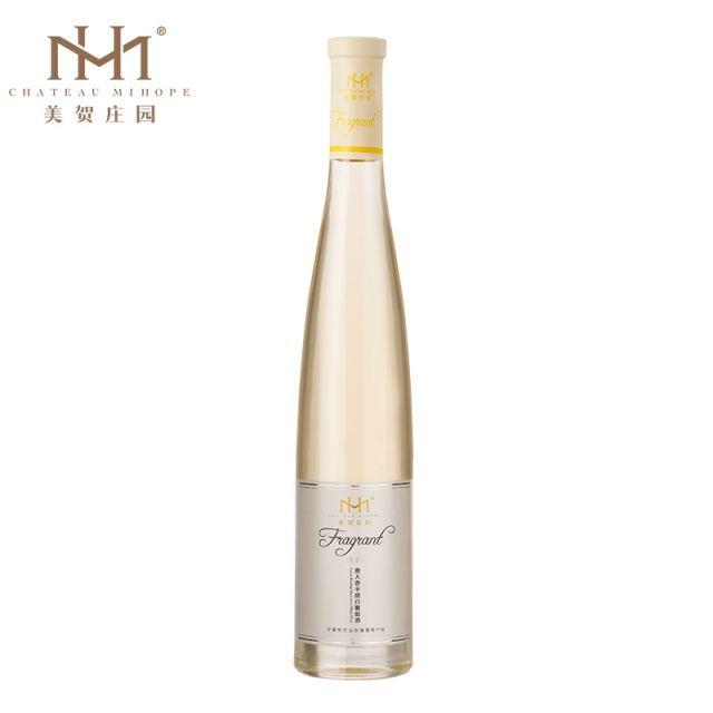 中国宁夏产区美贺庄园贵人香半甜白葡萄酒