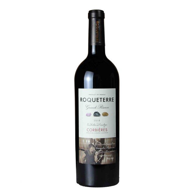 法国科比埃大地珍藏酿酒师精选红葡萄酒