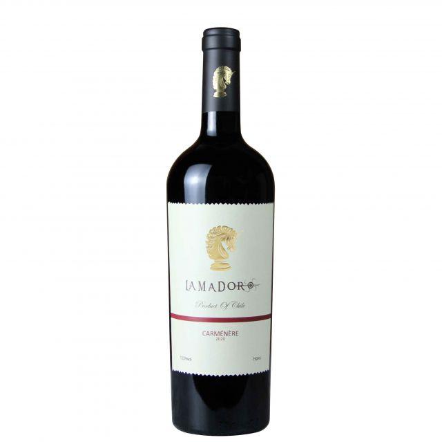 智利莫莱谷Invina蓝马度佳美娜优质品种级干红葡萄酒