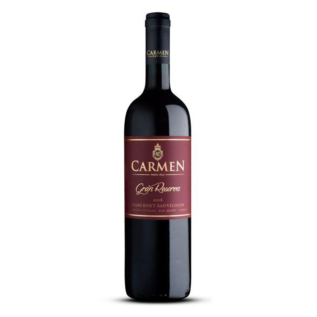 智利迈坡谷卡门特级珍藏赤霞珠干红葡萄酒红酒