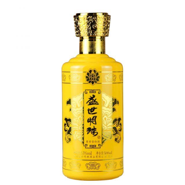 中国贵州茅台镇盛世黄珠酱香型白酒