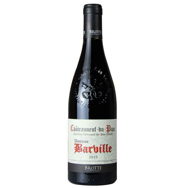 法國教皇新堡波特酒莊巴爾維勒莊園紅葡萄酒