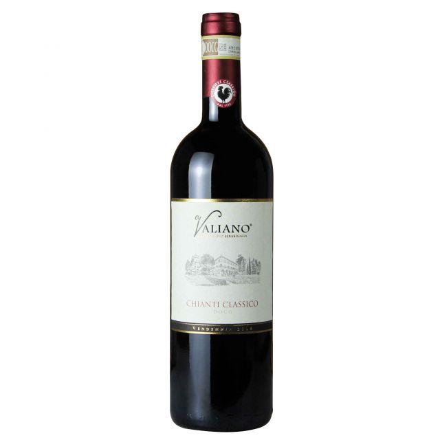 意大利托斯卡納維利亞諾經典基安蒂紅葡萄酒紅酒
