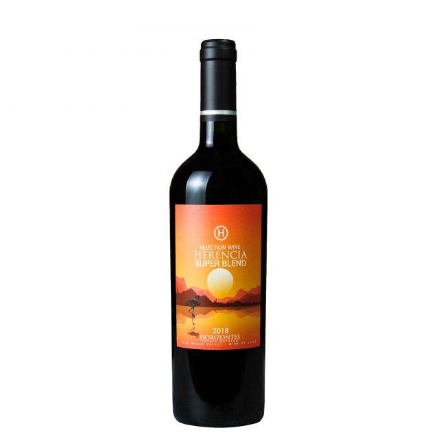 智利莫莱谷Invina视界-梅乐西拉混酿红葡萄酒红酒