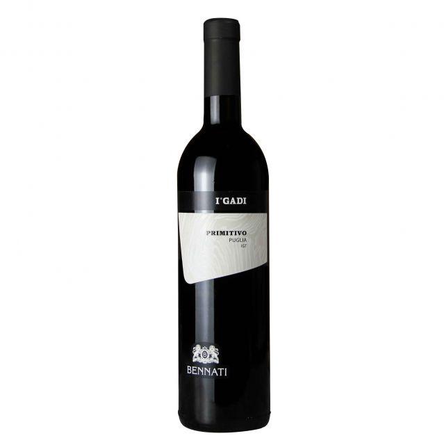 意大利普里亚贝纳蒂酒庄普米蒂沃红葡萄酒红酒