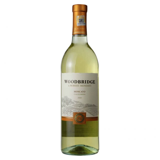 美國蒙大菲木橋莫斯卡托甜白葡萄酒2017