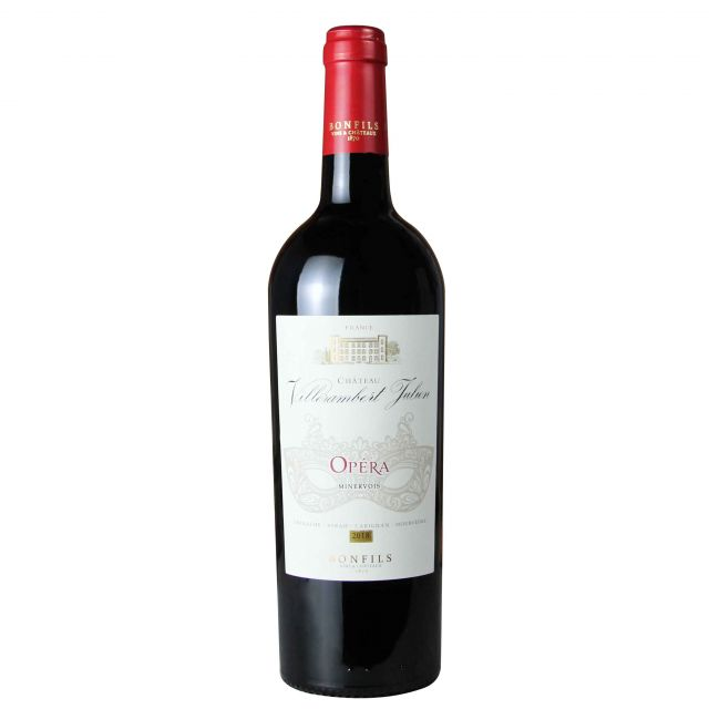 法國米內瓦維蘭貝歌劇院紅葡萄酒紅酒