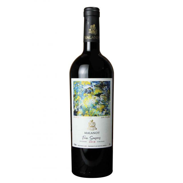 南非西開普省馬蘭諾特酒莊四季紅葡萄酒紅酒