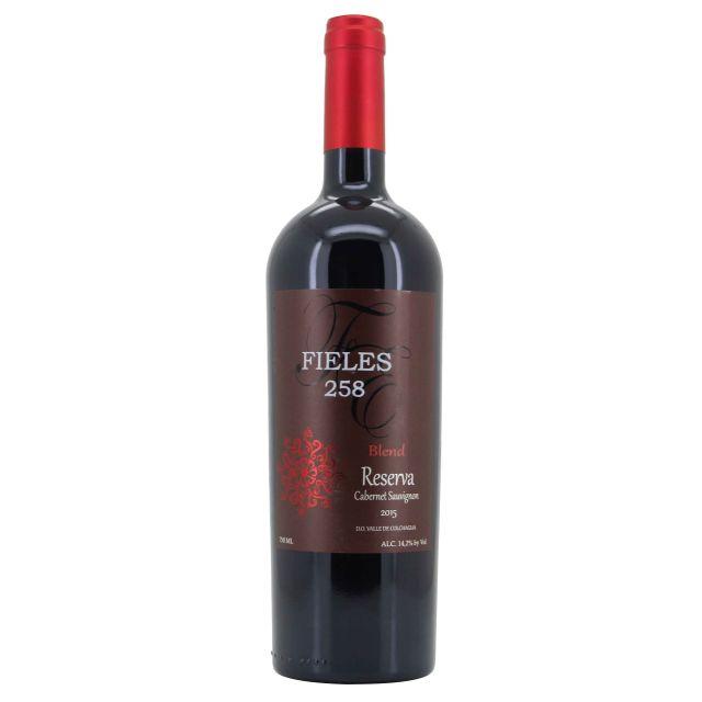 智利科尓查瓜谷菲利斯混酿珍藏赤霞珠干红葡萄酒N258