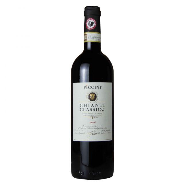 意大利彼奇尼经典基安蒂红葡萄酒红酒
