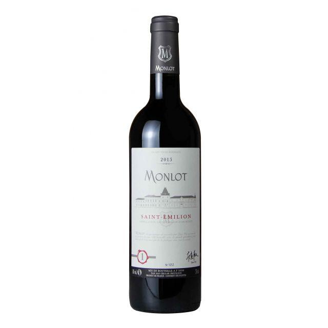 法国梦陇圣爱美浓干红葡萄酒2015